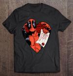 Marvel Deadpool Valentine To Do List Deadpool marvel Marvel Deadpool to do list Valentine T Shirt