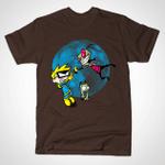 Invader Spiff T-Shirt Calvin and Hobbes Cartoon Invader Zim Mashup TV T Shirt