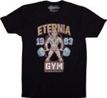 MOTU Eternia Gym T-Shirt 1983 Cartoon Eternia gym He-Man Masters of the Universe Parody TV T Shirt