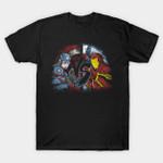 Civil Fighter T-Shirt Captain America Captain America: Civil War Iron Man Marvel Comics Parody Steve Rogers Street Fighter Superhero Tony Stark T