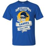 Skull Say Hi Buffalo Sabres T Shirts bestfunnystore.com T Shirt