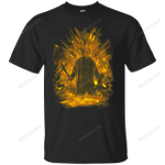 Crystal Lake Storm Orange T-Shirt movie T Shirt