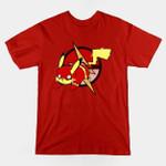 PIKAFLASH T-Shirt Anime DC Comics Mashup Nintendo Parody Pikachu Pokemon Superhero The Flash Video Game T Shirt