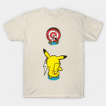 Practice Time Aqua T-Shirt Anime Nintendo Pikachu Pokemon Video Game T Shirt