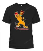 Scooby-Doo AZ Cardinals NFL Arizona Cardinals T Shirt