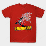 Puddinlands T-Shirt Batman villain Borderlands DC Comics Harley Quinn Parody Supervillain T Shirt