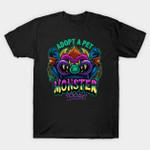 Adopt a Pet Monster T-Shirt Cartoon My Pet Monster TV T Shirt