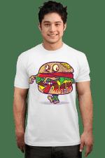 ZOMBURGER T-Shirt burger hambuger Zombie T Shirt
