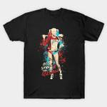 God Save The Quinn T-Shirt Batman villain DC Comics Harley Quinn Suicide Squad Supervillain T Shirt