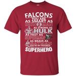 Atlanta Falcons You're My Favorite Super Hero T Shirts bestfunnystore.com T Shirt