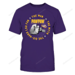 LSU Tigers - The Man The Myth - Hand In Hand LSU Tigers T Shirt