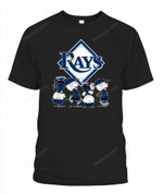 Charlie Brown Rays MLB Tampa Bay Rays T Shirt