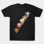 Fairy Friends: Lil' CutiEs T-Shirt Disney Fawn Iridessa and Rosetta movie Peter Pan Silvermist Tinkerbell T Shirt