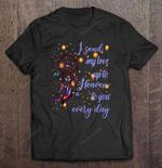 I Send My Love Up To Heaven To You Eveyday Butterfly Dreamcatcher Cat T Shirt