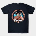 Eu Sou Goku T-Shirt Anime Dragon Ball Dragon Ball Z Goku Manga T Shirt