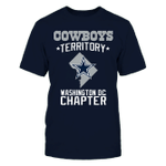 Cowboys - Washington DC Territory NFL Dallas Cowboys 2 T Shirt