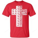 I Can Do All Things Through Christ Detroit Red Wings T Shirts bestfunnystore.com T Shirt