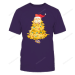 LSU Tigers - Xmas - Santa Christmas Tree - IF32-IC32-DS63 LSU Tigers T Shirt