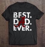 Best Dad Ever - Alabama Crimson Tide Football T Shirt