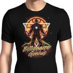 Retro Billionaire Genius Graphic Arts T Shirt