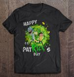Happy St Patrick's Day Rick And Morty Version Happy St Patrick's Day IRISH Rick and Morty St.Patrick's day T Shirt