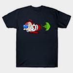 Ha-Poo-Ken T-Shirt Cartoon hadoken Parody Ren And Stimpy Street Fighter The Ren Andamp; Stimpy Show TV T Shirt