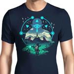 Wild Adventurer Graphic Arts T Shirt
