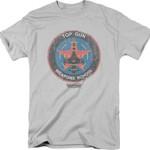 Top Gun Weapons School T-Shirt 80s Movie T Shirt