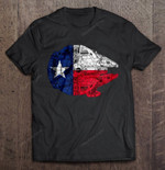 The Millennium falcon and The Texas Version2 Millennium falcon Star Wars Texas Texas flag T Shirt