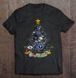 Merry And Bright Tennessee Titans NFL Christmas Tree NFL T Shirt