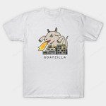 GOATZILLA T-Shirt goat Godzilla kaiju monster movie Parody T Shirt