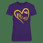 LSU Tigers - Heart Grandma - Meme LSU Tigers T Shirt