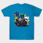 Bat Kart T-Shirt Batman Bruce Wayne DC Comics Mario Mario Kart Nintendo Parody Superhero T Shirt