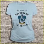 Team captain Ravenclaw quidditch Harry Potter Ravenclaw Ravenclaw quidditch Team captain T Shirt