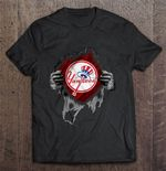 New York Yankees Heartbeats - Major League Baseball MLB MLB T Shirt