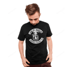 Sons of Arkham T-Shirt Batman DC Comics Joker Mashup Parody Sons of Anarchy Supervillain TV T Shirt