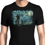 Stranger Night Graphic Arts T Shirt
