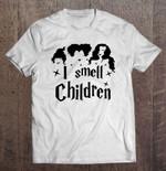 I Smell Children Hocus Pocus Halloween White Version2 Halloween Hocus Pocus Smell Children T Shirt