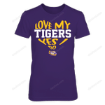 LSU Tigers - Love My Team, Yes I Do LSU Tigers T Shirt