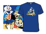 The Original Breakfast Club T-Shirt Lucky Charms Mashup movie Parody The Breakfast Club Tony the Tiger T Shirt