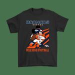 Denver Broncos Slogan Mile High Football Mickey Mouse NFL Shirts Denver Broncos Disney football Mickey Mouse NFL Slogan T Shirt