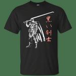 The Black Swordsman T-Shirt anime T Shirt