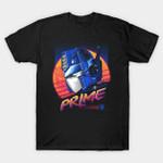 Rad Convoy T-Shirt Cartoon Optimus Prime Transformers TV T Shirt