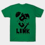 unlinked T-Shirt Legend of Zelda Link Nintendo Parody Video Game T Shirt
