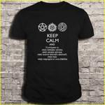 Supernatural keep calm and exercise Supernatural T Shirt