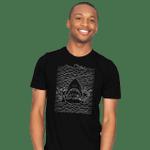 Jaw Division T-Shirt Jaws Joy Division movie Parody Shark T Shirt