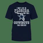 Dallas Cowboys - Fan In Florida NFL Dallas Cowboys 2 T Shirt