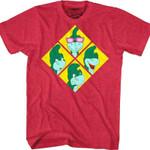 Emotions Of Denver The Last Dinosaur T-Shirt 80S CARTOON T Shirt