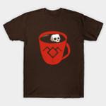 Black Coffee T-Shirt coffee skull TV Twin Peaks T Shirt
