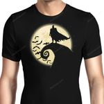 Nightmare Before Batmas Graphic Arts T Shirt